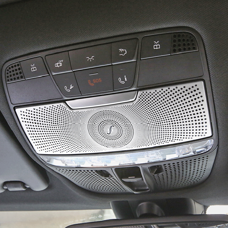 Electronic Handbrake Frame Cover Trim For Mercedes Benz C E GLC Class W205 15-17
