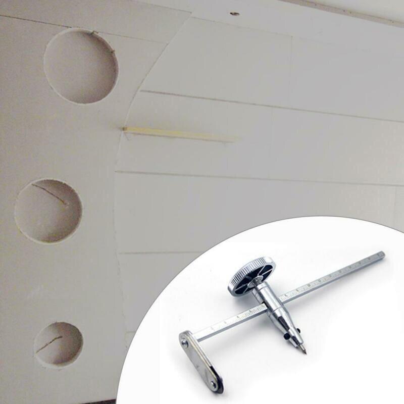 Drywall Circle Hole Cutter Gypsum Board Drill Steel With Adjustable  Screw Knob