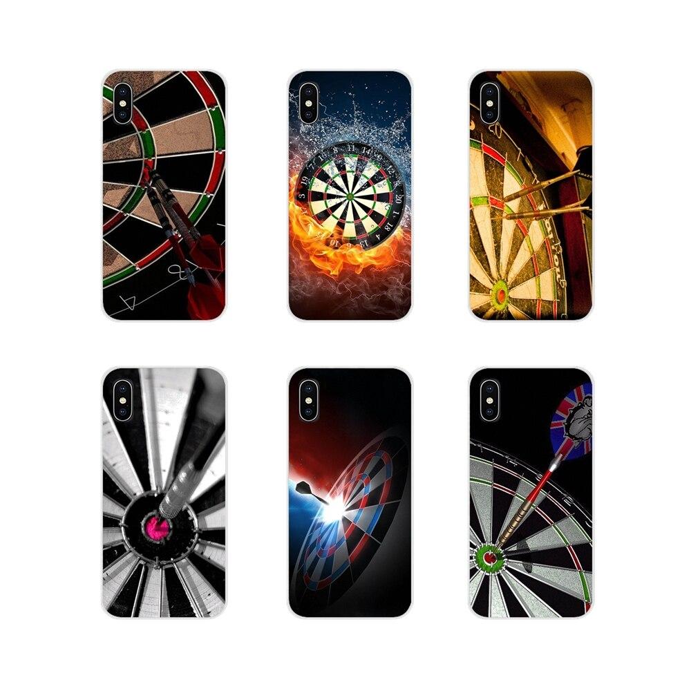 Для huawei mate Honor 5X6X7 7A 7C 8 9 10 8C 8X20 30 Lite Pro Модные Простые Дартс игровые аксессуары чехлы для телефонов