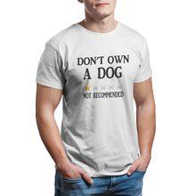 Не употребляет собак-не рекомендуется, 100% хлопок, черные графические Рождественские футболки для косплея, футболки 6696