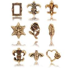 100 _ новые украшения для дизайна ногтей заклепки из золотого