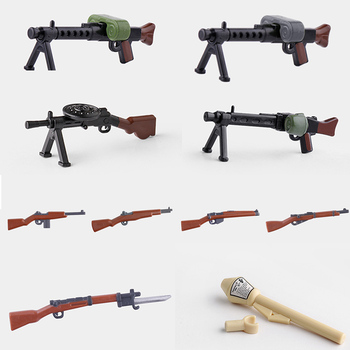 2017 new kazi 4pcs building blocks wolf tooth field team militray army weapons compatible with legoe solider bricks toys 10pcs Multicolor Weapons Military Building Blocks Guns Model Rifle Army Soldier Figures Moc Army weapon Accessories Bricks Toys