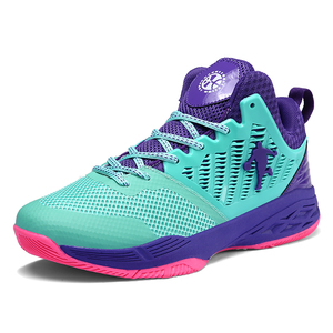 Image 2 - 2019 New Mesh Breathable Basketball Shoes, Fashion Basketball Wear Sneakers Men,Flying Woven Upper Is Soft and Comfortable