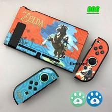 Funda protectora rígida para Nintendo Switch, carcasa de piel para accesorios de consola, 2020