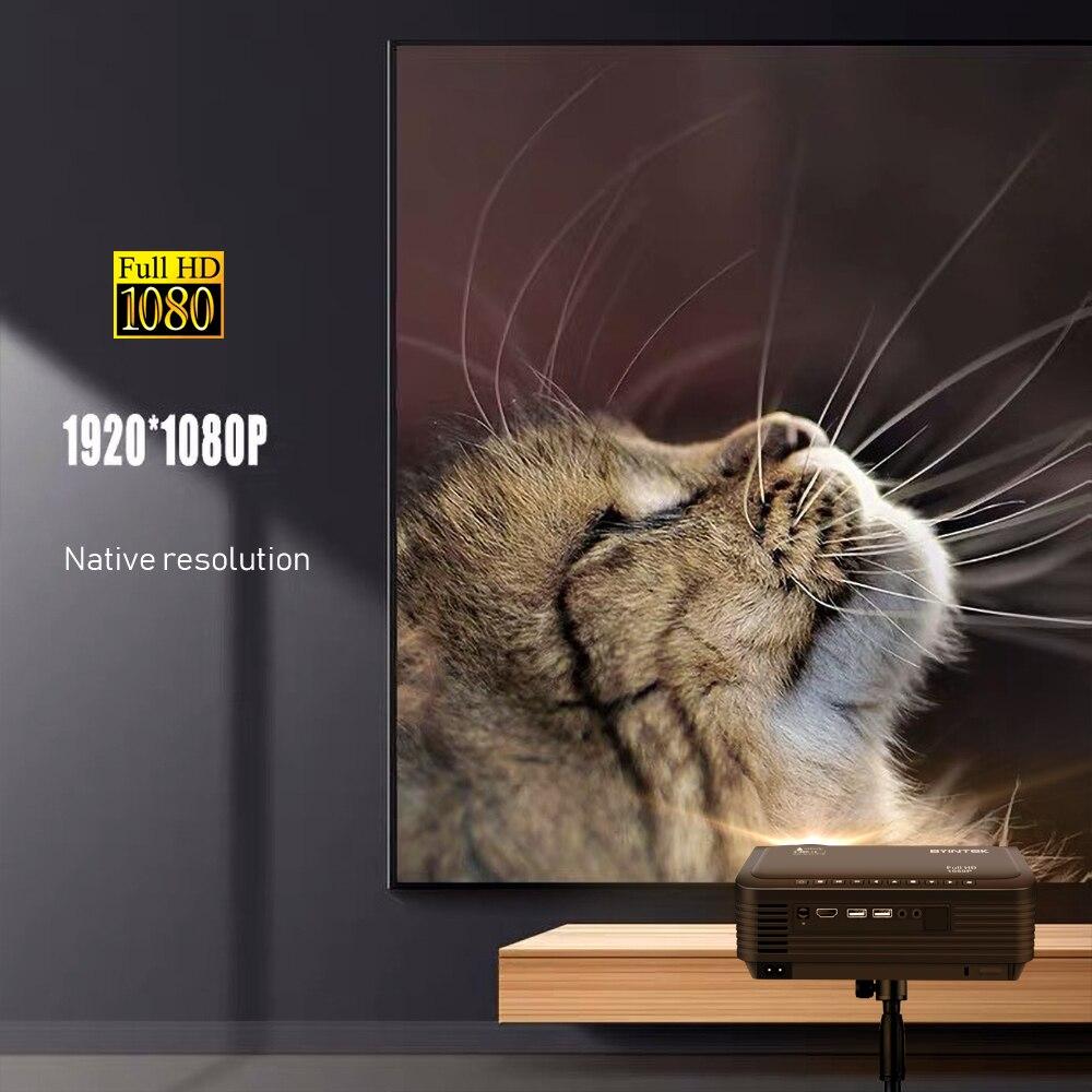 Image 2 - Светодиодный проектор BYINTEK K18 HD 4k, 1080P проектор, светодиодный проектор для смартфона 3D 4K кинотеатр (опционально ТВ приставка Android 10)     АлиЭкспресс