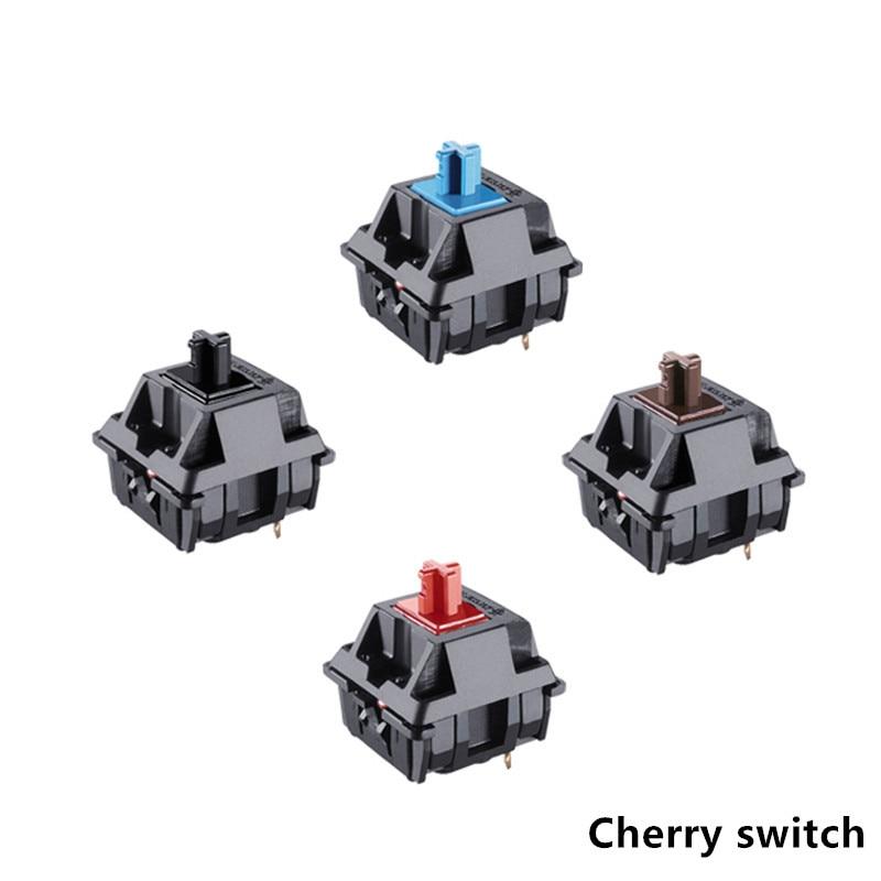 Original 8 Cherry MX Mechanical Keyboard Switch Silver MX Brown Blue Switch 3-pin Cherry Bright Switch