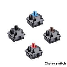 Original 8 Cherry MX Mechanical Keyboard Switch Silver MX Brown Blue Switch 3 pin Cherry Bright Switch
