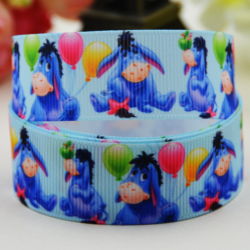 """Purple Unicorn Ribbon 7//8/"""" 22mm 1 meter Baby Blue Bows and Cakes and Crafting"""