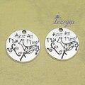 20 шт./лот -- 19 мм, амулеты с оленями, античные посеребренные, все это время амулеты, принадлежности для самостоятельного изготовления, ювелирн...