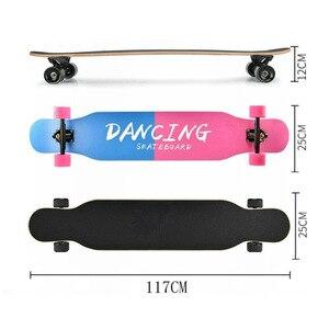Image 2 - Professionale Completa di Skateboard Longboard di Ballo di Strada di Skateboard Longboard Downhill Maple Deck Board