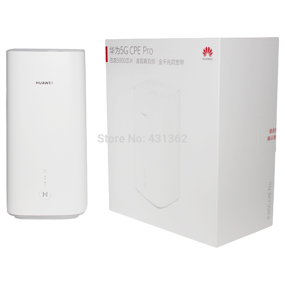 Balong 5000 2.33Gbps Huawei H112-372 5G Mobile WiFi Hotspot CPE Router Support 5G N41/N77/N78/N79 Band