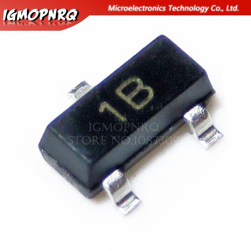 BJT Transistor 200mW 100 PCS BC857C SOT-23  Transistors