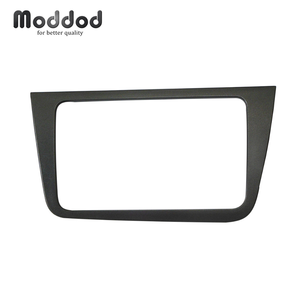 Doble Din Car Radio Fascia para Seat Altea 2004+ Toledo 2004-2009 Panel estéreo GPS DVD Instalación Trim Kit Frame
