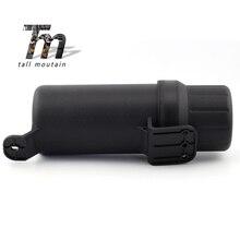 Universal Off-Road Tool Tube Gloves Box Motorcycle Waterproof Raincoat Storage Ring Kit Bag Motorbike Part