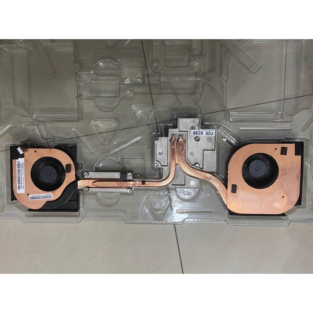 New and Original laptop Lenovo Thinkpad P52 P53 CPU Cooling Fan Heatsink Assembly Radiator Cooler 02DM016 02DM017