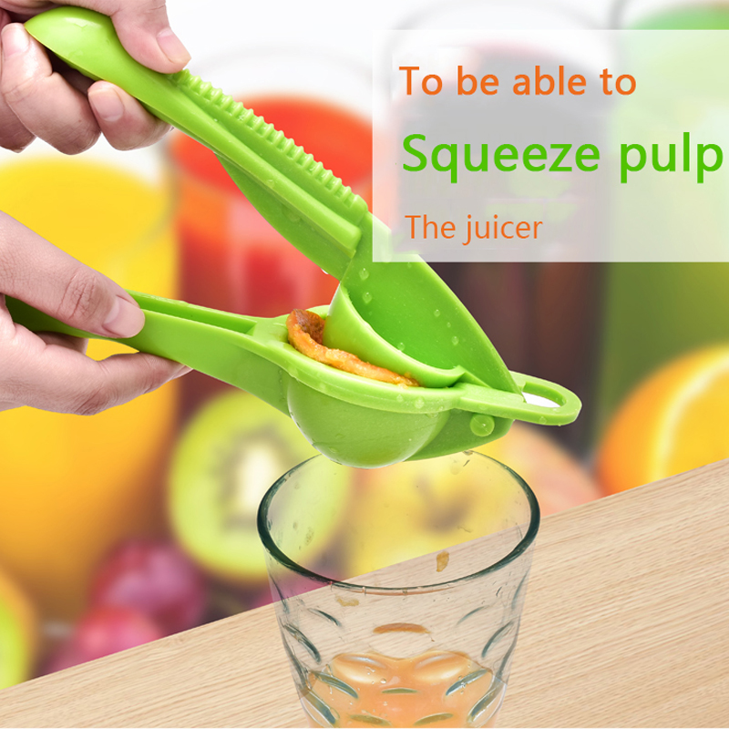 Ручная Соковыжималка для лимона, фруктов, кухонные инструменты, ручная соковыжималка с витамином, блендер, портативная мини-соковыжималка