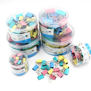 Paper-Clip Stationery Books Office-Supplies 15mm Metal Color School 30pcs High-Quality