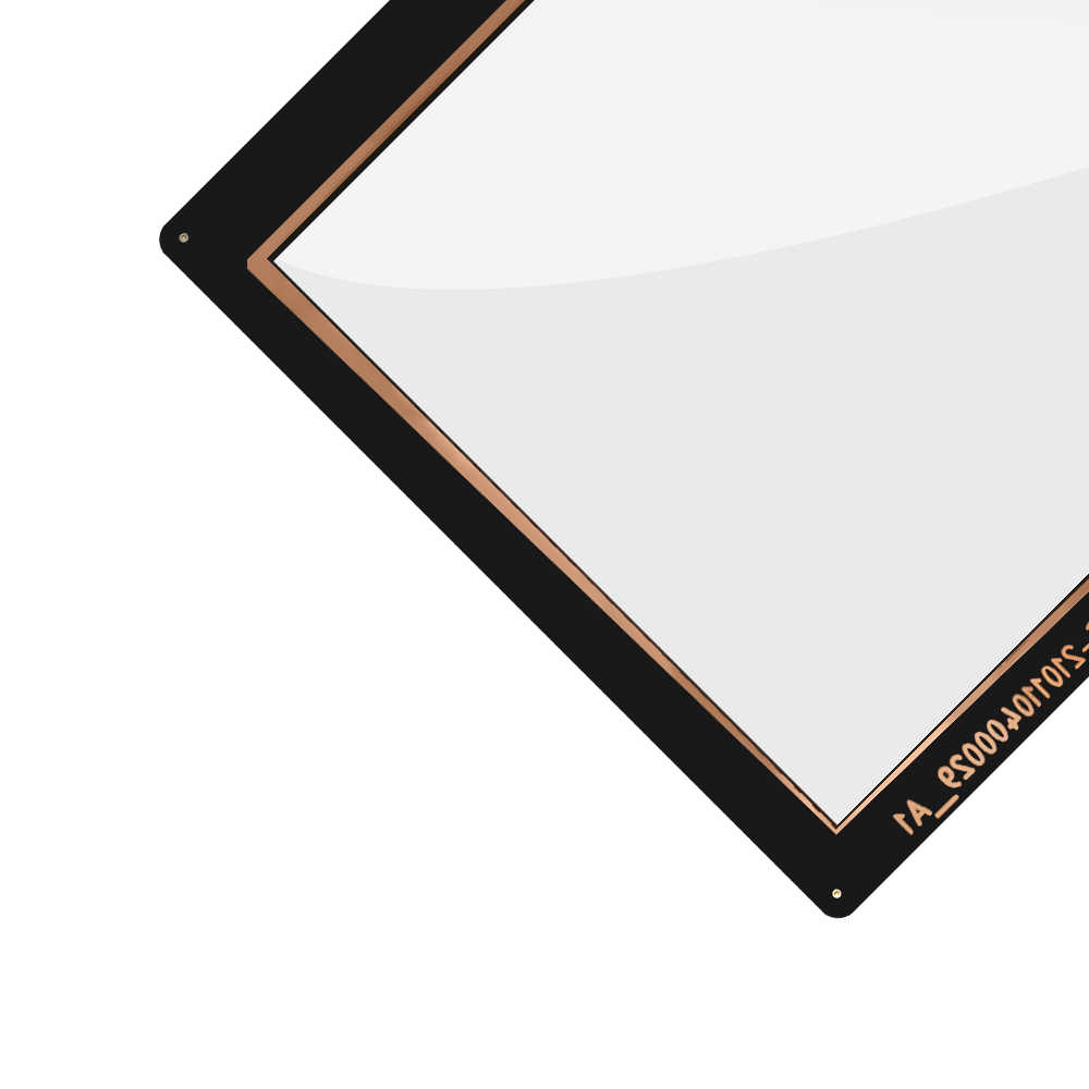 100% yeni Tablet dokunmatik Panel 10.1 ''dokunmatik ekran Lenovo A10-30 dokunmatik ekran digitizer cam Flex kablo meclisi