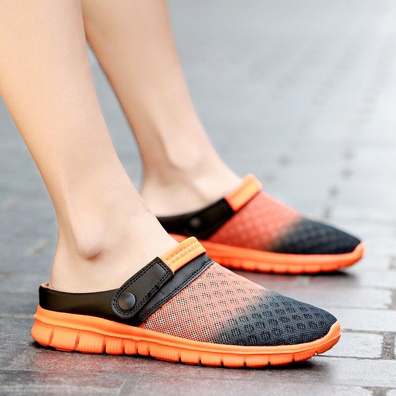 Crocse Crocks Couple Pool Sandals Summer Outdoor CholasBeach Shoes Men Slip On Garden Clogs Casual Water Shower  LiteRide Crock