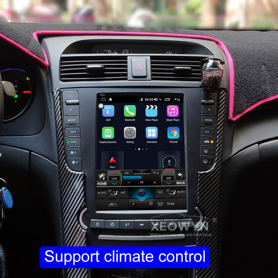 9 7inch Android 10 Car Radio Stereo For Acura Tl 2004 2008 Gps Navigation Support Steering Wheel Control Full Touch 1024 600 Car Multimedia Player Aliexpress