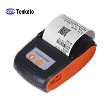 Портативный беспроводной мини-принтер Bluetooth 58 мм, мобильный карманный терминал для счета-фактуры, термопринтер с бесплатным SDK