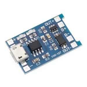 Image 5 - 5 قطعة TP4056 5 فولت 1A المصغّر USB 18650 بطارية ليثيوم شحن مجلس وحدة شاحن + حماية وظائف مزدوجة