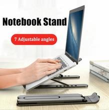 Регулируемая Складная подставка для ноутбука, нескользящий Настольный держатель для ноутбука, подставка для ноутбука Macbook Pro Air iPad Pro DELL HP