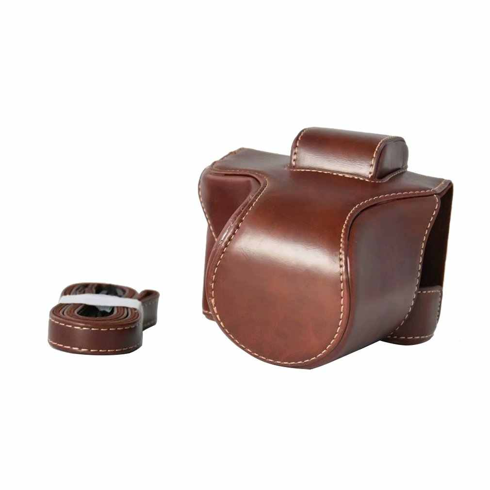 Pu Leather Camera Bag Case Cover Pouch For Canon Eos M5 M50 Protection Durable Portable Camera Accessories