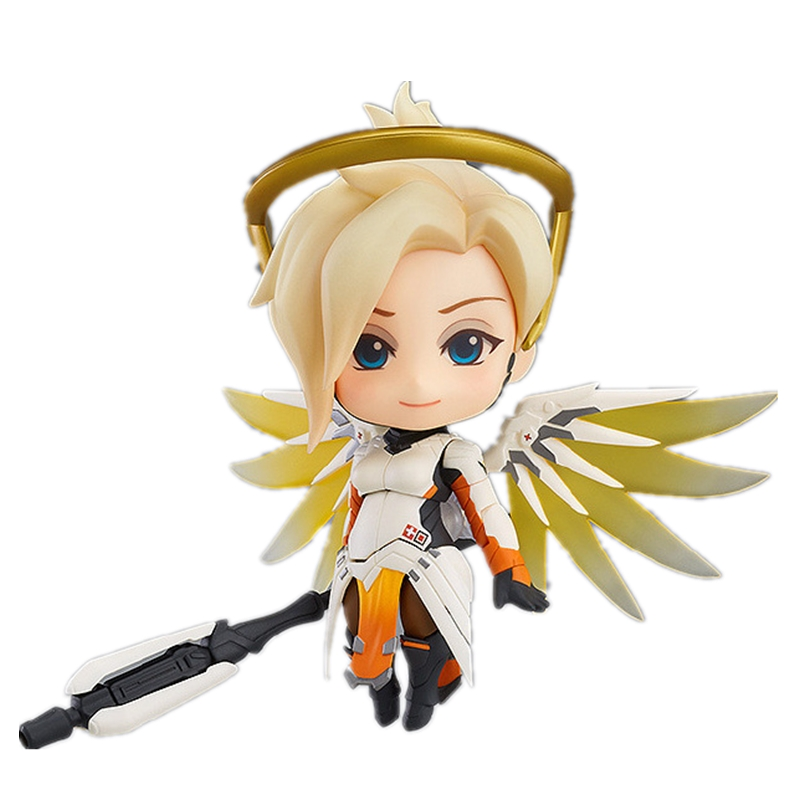 BlizzardING Collectible Figures Overwatching Mercy PVC Action Figure Model Toys Gifts For Kids Action Figures Juguete