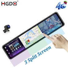 Video-Recorder Dash-Cam Rear-View-Mirror ADAS Android HGDO Car-Dvr-Camera Registrar GPS