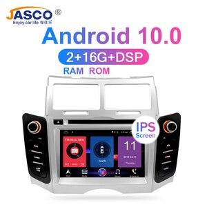 Image 3 - 11.11 Android 10 Xe Ô Tô DVD Stereo Đa Phương Tiện Headunitfor TOYOTA YARIS 2005 VITZ Platz Đài Phát Thanh Đồng Hồ Định Vị GPS Video Âm Thanh 4G RAM 64G