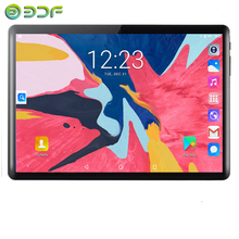 10.1 inch Tablets 2.5D Tempered Glass 4G/3G Phone Call Android 9.0 Octa Core 6GB RAM 64GB ROM 5.0MP IPS Wi-Fi Cards Tablets PC