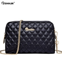 ZOOLER Genuine leather cross body bags for women 2019 luxury handbags designer fashion purse lady bolsa feminina#M503