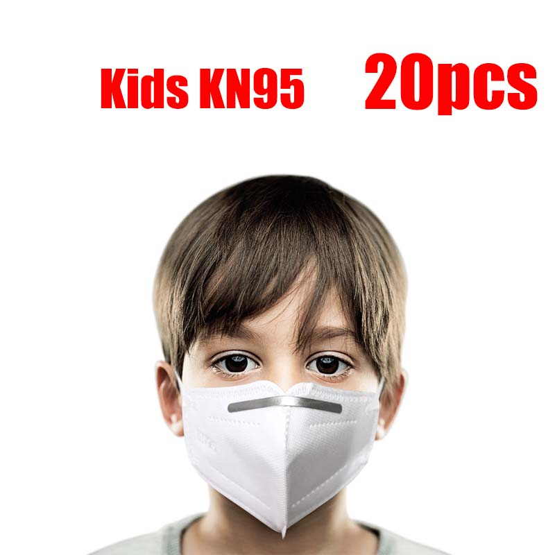 Kn95-for-kida 5 Layers Ear Loop Covers N95-maskes Pm25 Kn95-maskes Non-Woven Anti-dust Protective Face Covers Earloop In Stock