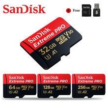 SanDisk Extreme Pro tarjeta Micro SD de 400GB 256GB 128GB tarjeta de memoria de 32GB 64GB U3 V30 4K tarjeta Flash Microsd TF/tarjeta SD para el teléfono