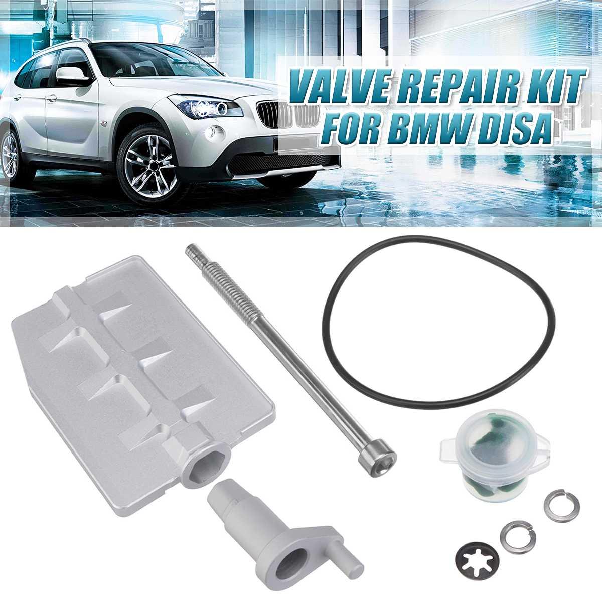 1 Set Engine Intake Manifold Valve Swirl Flap Repair Kit Rattle Aluminium Fix Overhaul For BMW Disa M54 3.0 Ltr 2.2 2.5