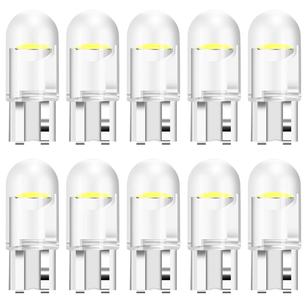 T10 w5w wy5w 12v cob lâmpada led luzes do carro lâmpada de sinal para audi e-tron assento ateca alfa romeo stelvio mazda 6 cx3 cx5 CX-5 cx7