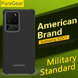 Puregear Shockproof Hard Siliconen Case Voor Samsung Galaxy S20 Plus S20 Ultra S10-Plus Anti-Val Cover Voor Galaxy S10E