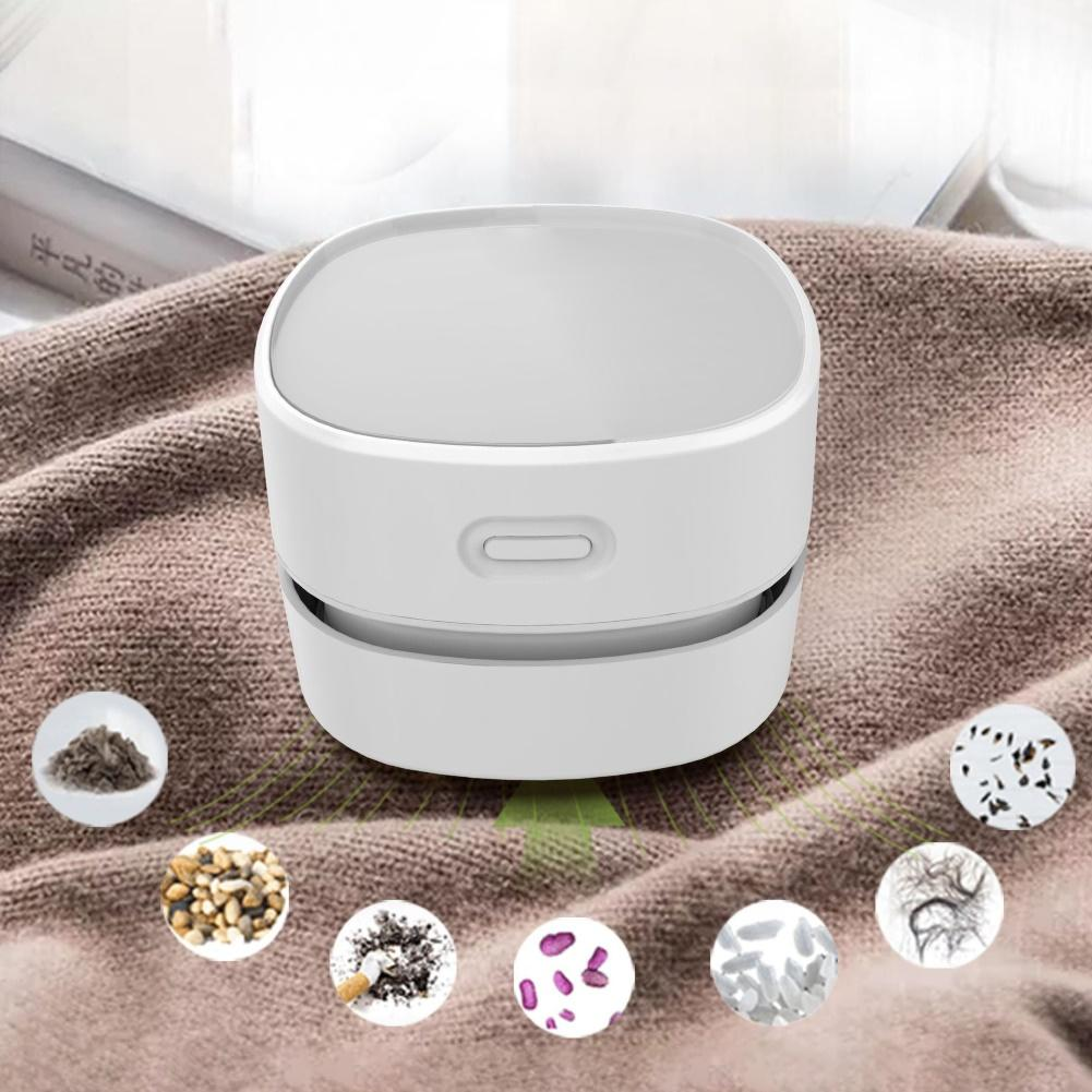 Desktop Vacuum Cleaner Mini Portable Desktop Table Keyboard Vacuum Cleaner Dust Sweeper For Home Office