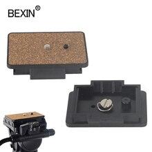 Быстросъемная пластина для камеры с быстрой загрузкой для Yunteng VCT 950 880 870 860 588 8008 штатив CX686 C600 DC70 для Velbon PH368 QB 6RL