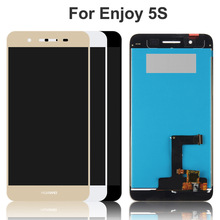 цена на 5.0 inch For Huawei Enjoy 5S GR3 TAG-L21 TAG-L22 TAG-L03 TAG-L01 TAG-L23 LCD Display Touch Screen Digitizer Assembly with frame