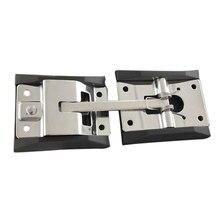 Нержавеющая сталь RV прочный легко установить позиционирование Т-образная Пряжка полированная защитная с кронштейном аксессуары грузовик дверь крюк