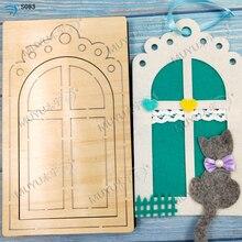 Съемные штампы для окон и дверей, деревянные формы, аксессуары для высечки, деревянные штампы Regola Acciaio die Misura