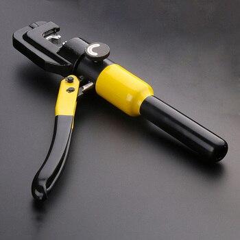 12T Cable alicates de engarce de Terminal Manual hidráulico pinzas de aluminio de cobre Nasal presión Wirin 22mm de carrera nueve molde hidráulico
