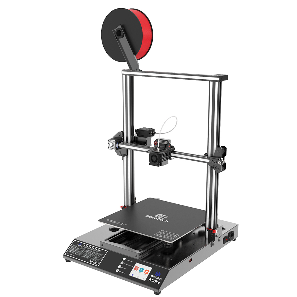 GEEETECH A30 Pro kolorowy ekran dotykowy wysoka dokładność cicha duża objętość 320*320 * 420mm ³ Filament sensor FDM drukarka 3D