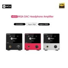 цена на SMSL M500 MQA dac Headphone Amplifier ES9038PRO AUDIO Decoding USB DAC XMOS XU208 DSD512 32Bit / 768Khz USB/OPT/COAX input