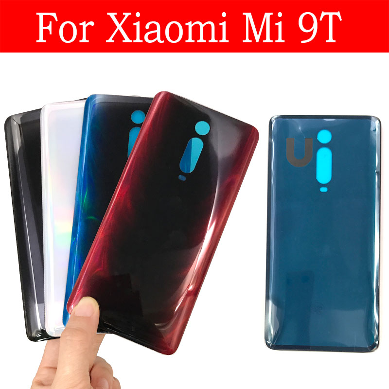 Battery Back Cover For Xiaomi Mi 9T / Redmi K20 Rear Glass Housing Case Replacement For Mi 9T 9 T Pro Rear Battery Glass Cover