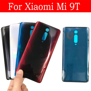 Battery Back Cover For Xiaomi Mi 9T / Redmi K20 Rear Glass Housing Case Replacement For Mi 9T 9 t Pro Rear Battery Glass Cover new for xiaomi redmi k20 back cover metal case xiaomi redmi k20 pro back battery cover housing replacement parts redmi mi 9t pro