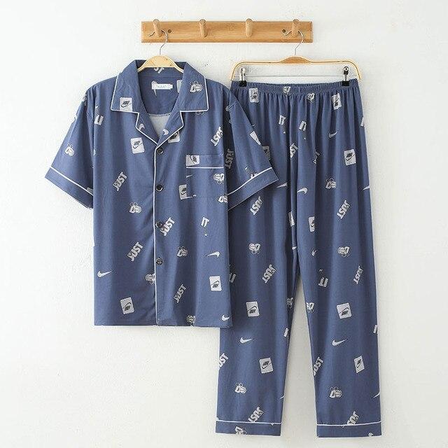 Пижама мужская с коротким рукавом 3