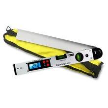 Goniomètre numérique rapporteur électronique 225 degrés détecteur d'angle 400mm niveau mesure jauge mètre inclinomètre règle